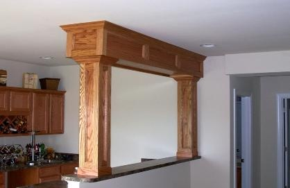Interior Wood Trim Ideas : Wood trim ideas for the home woods front entry