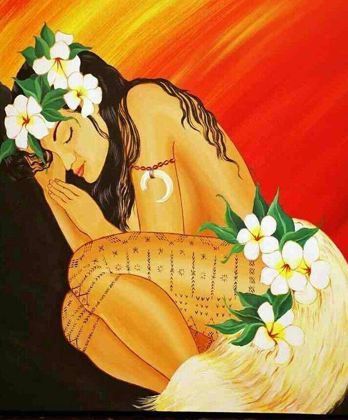 Samoan sleepin Beauty!!!
