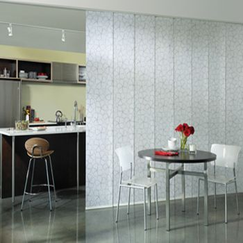 Hunter Douglas Sliding Gliding Panels. For privacy on a window or room divider, you decide. #chtcontest