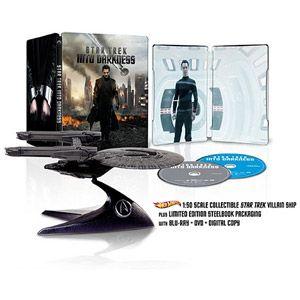 Star Trek: Into Darkness  (Blu-ray + DVD + Digital Copy + Villain Ship) (Walmart Exclusive) (Widescreen) I'm Hyperventilating!!!