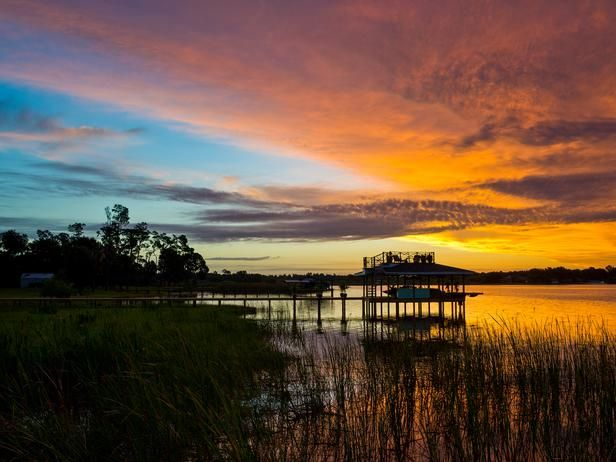Blog Cabin's Dock at SunriseDecor, Beautiful Sunrises, Sunrise Y Please, Winter Haven, Gorgeous Sunrises, Sunrise Sunsets, Breathtaking Sunrises, Winter Gardens