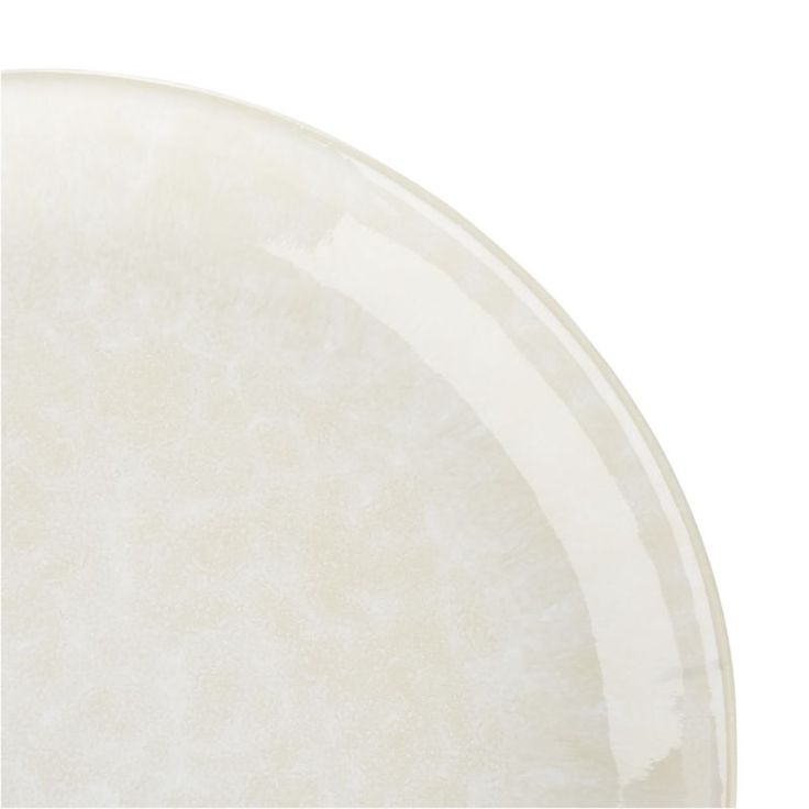 Caspian Cream Dinner Plate