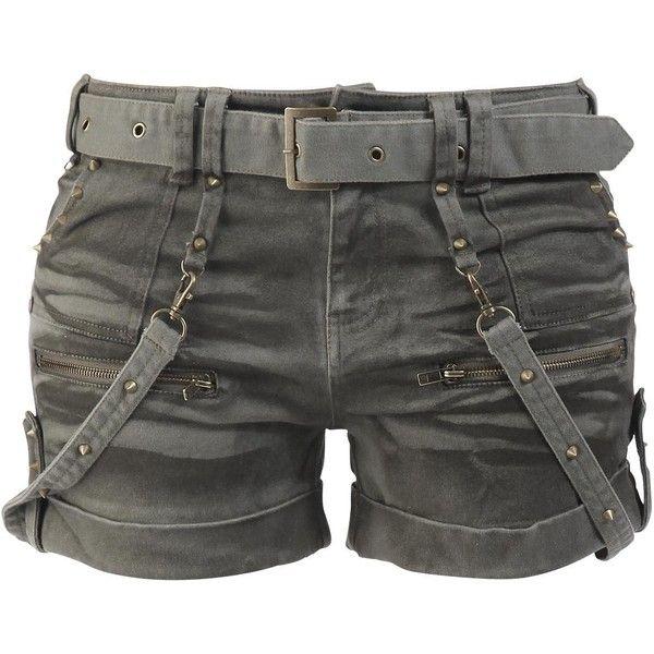 """Disponible uniquement chez nous : peu importe que vous le portiez en été ou en hiver, avec un legging ou des collants : le short sexy """"Studded"""" Black Premium b…"""
