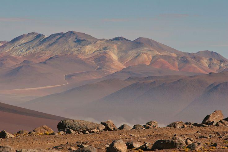 Dans le désert aride de San Pedro de Atacama au Chili