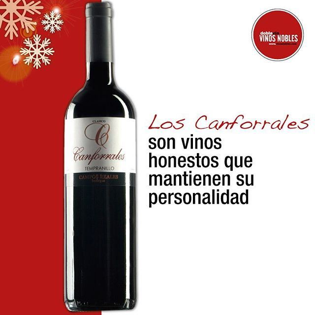 Canforrales es la marca estrella de nuestra bodega #CamposReales. Si este año quieres regalar uno de sus vinos solo comunícate con nosotros. Bogotá: (571) 7447042 Medellín: (574) 2686838 Cali: (572) 6605100 Pereira: (576) 331051