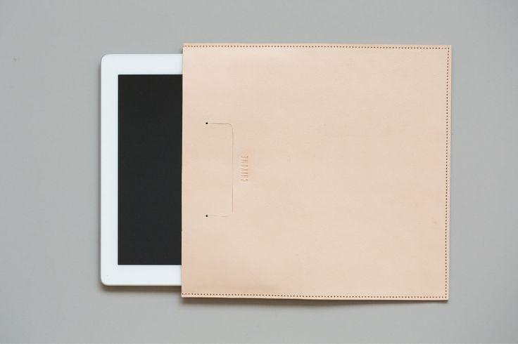 #Leather #iPad #Sleeve #Minimal