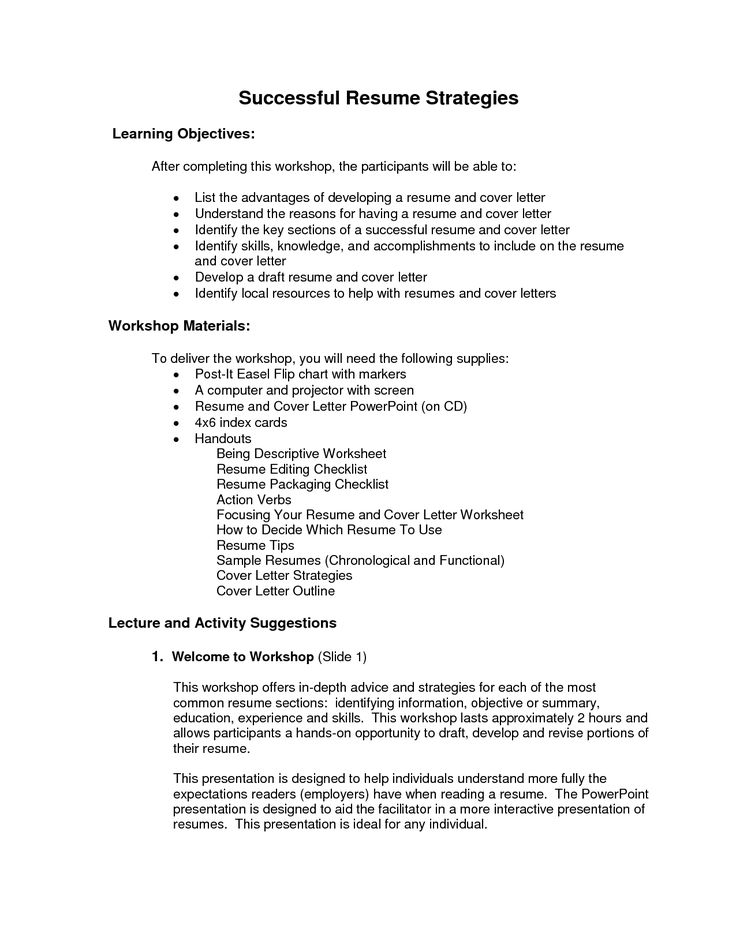 Best  Objective Examples For Resume Ideas On   Career