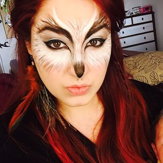 Image result for owl makeup
