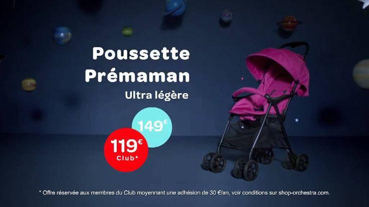 « Bienvenue dans la vie de parents ! » Et si la #poussette de demain se dépliait d'une seule main ? Découvrez le nouveau #spotTV #Orchestra et la poussette One lite – #Prémaman sur www.shop-orchestra.com