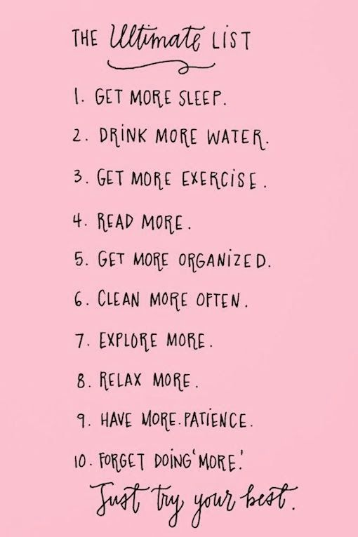 wise words: THE ULITMATE TO-DO LIST | bellaMUMMA