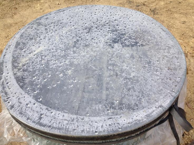 120114アルカディア田んぼ(里山会)籾殻くん炭つくり