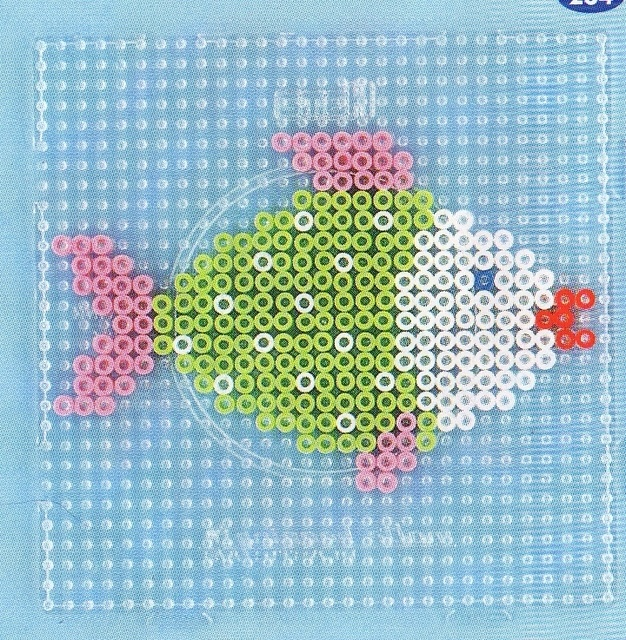 Fish hama beads - DOMINELLE DECOUPAGE - Picasa-Webalben