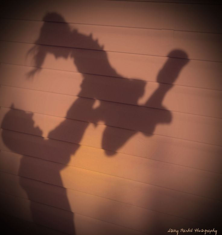 Shadow Dancing - Daddy & Daughter