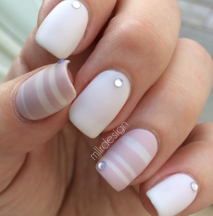 #Nail art with OPI Don't Bossa Nova Me Around: