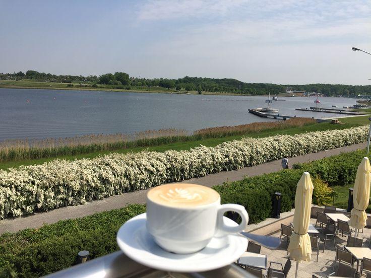 Coffee and Poznan (Malta Lake)