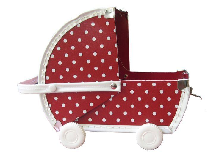pram suitcase red dots kalika mes habits ch ris kidstore r cr atif d coration enfant. Black Bedroom Furniture Sets. Home Design Ideas
