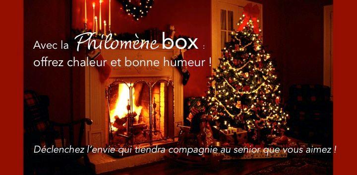 Idee Deco cadeau noel grand parents : Philomène Box - Le Cadeau de NOEL pour vos Grand-Parents ...