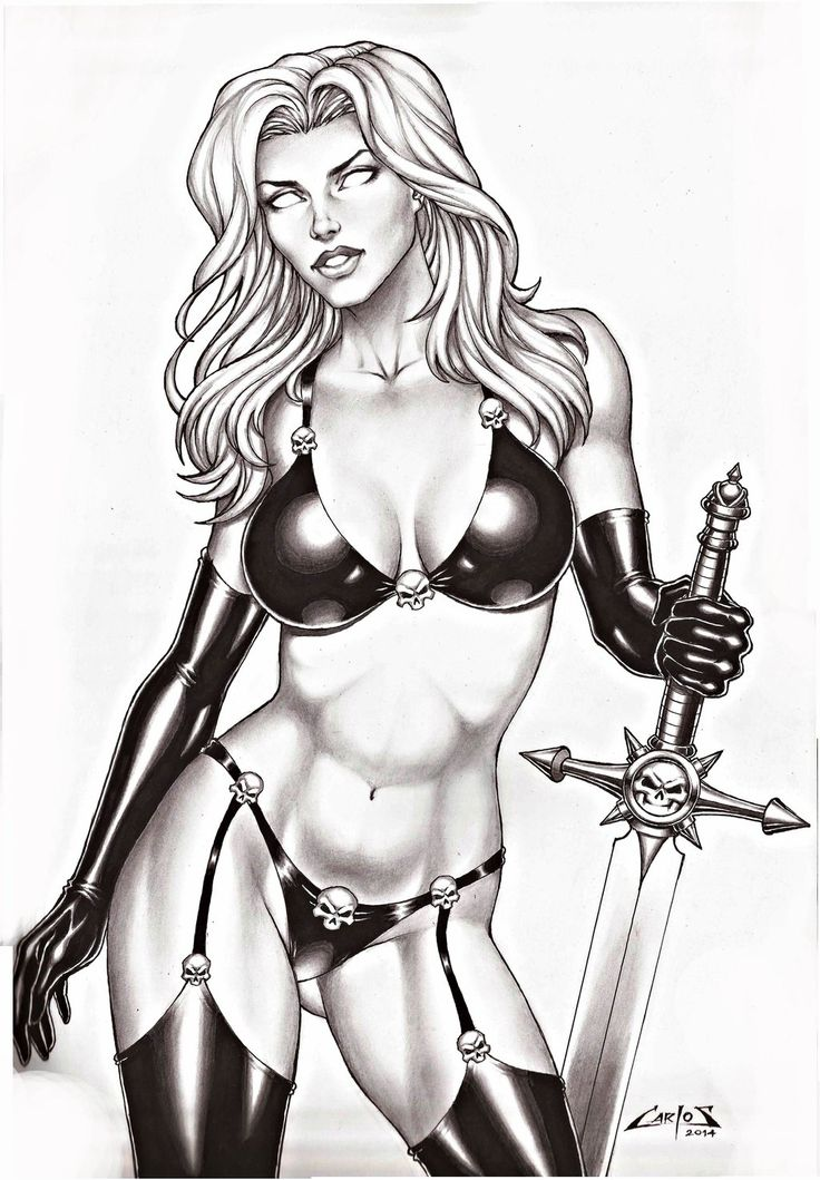 Lady Death by Carlos Augusto Braga
