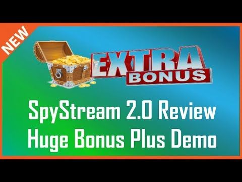 SpyStream 2.0 Review   Demo Plus Spy Stream 2.0 Bonus - YouTube