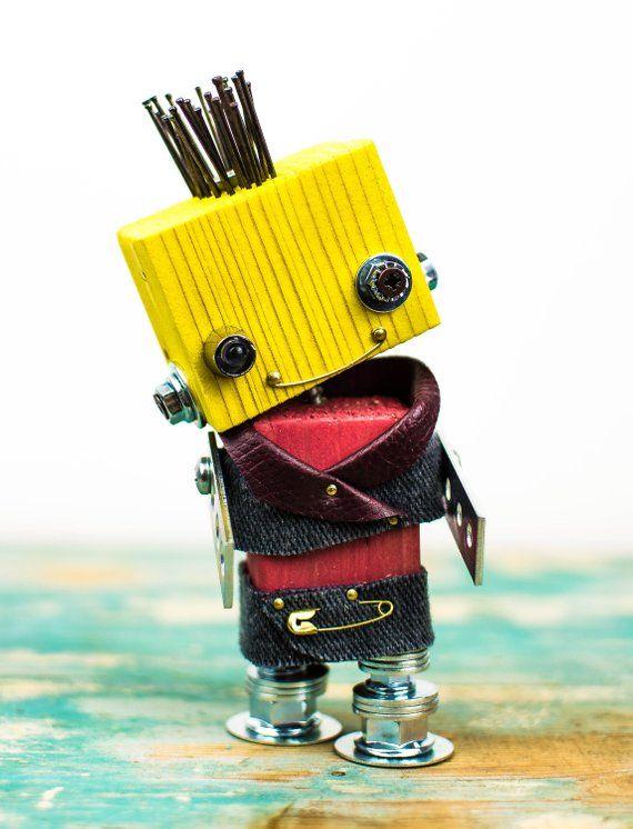 Robot, toy, punk, cresta, steampunk, luce di corte…