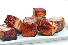 Extra Virgin Chef: Heston Blumenthal's 36-hour Sous Vide Pork Belly #sousvide