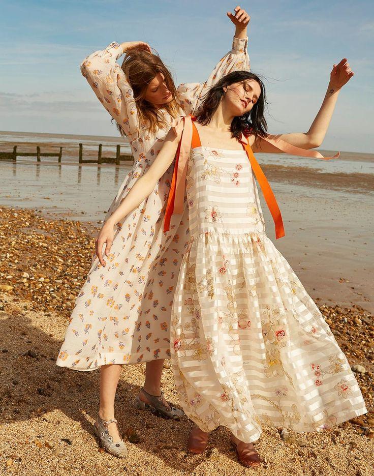 Harper's Bazaar UK July 2017 Katlin Aas and Valerija Kelava by Agata Pospieszynska Styled by: Charlie Harrington.  Hair: Mirka Mysicka.  Makeup: Marie Thomsen
