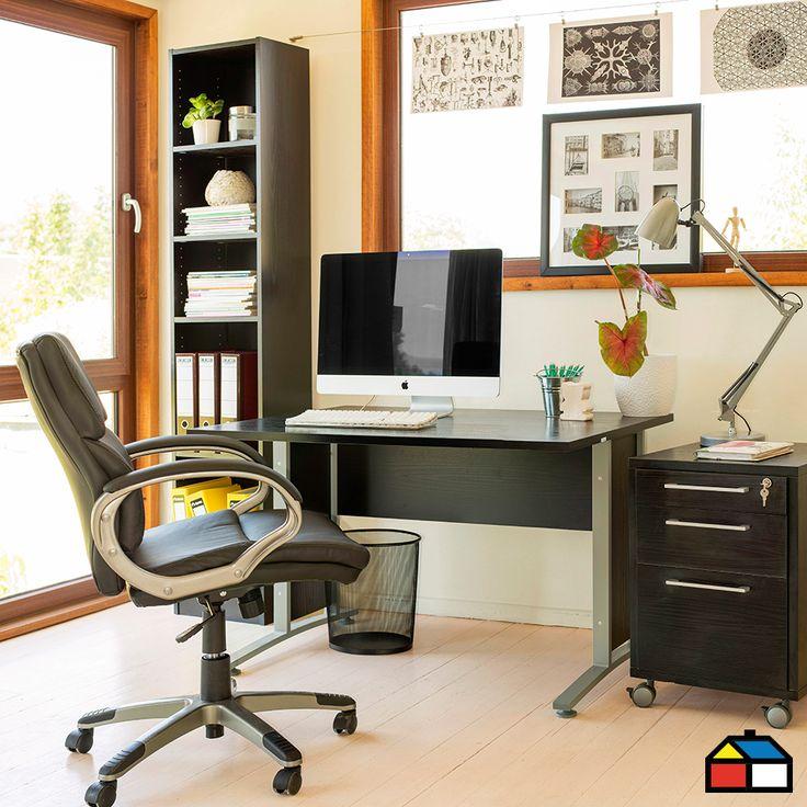 Homeoffice escritorio departamento muebles for Muebles departamento