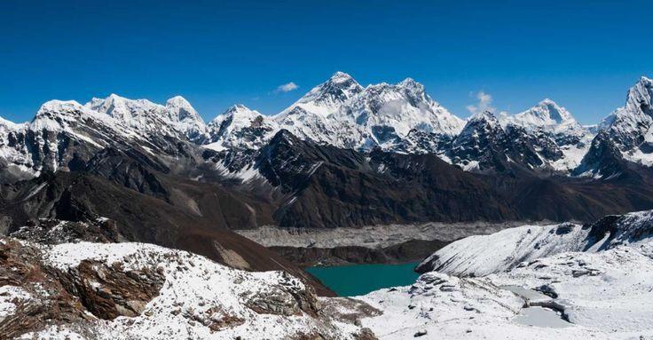 Three Pass Challenging Trekking in Everest Region, Nepal