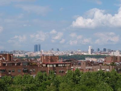 Foto Blogger. Tipos de paisajes. Vista de Madrid.
