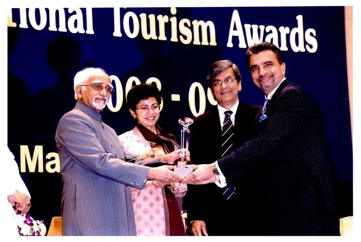 A & K India won  the  prestigious National Tourism  Award, instituted by the Govt of India, Ministry of Tourism, for growth in  Inbound  Tourism & earnings for the financial year 2008-2009.The award was  presented on 3rd March 2010 at the prestigious Vigyan Bhawan  complex,by the Hon'ble Vice President of India Shri M. Hamid Ansari, in the presence of  Hon'ble  Minister for Tourism, state and  foreign  dignitaries and other select invitees from the Travel & Tourism fraternity.