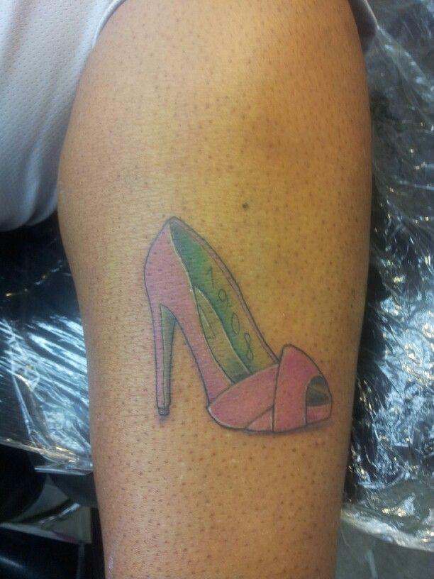 AKA Sorority tattoo