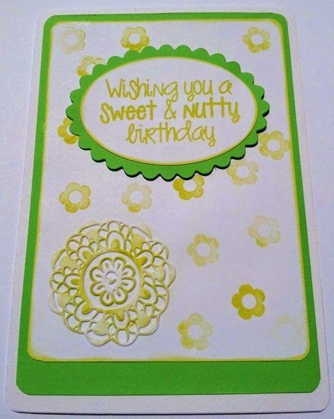 BellesCreations.gr: Wishing you a sweet & nutty birthday