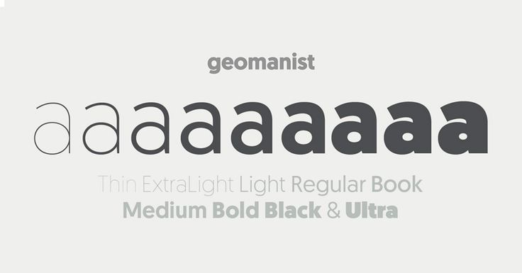 geomanist bold