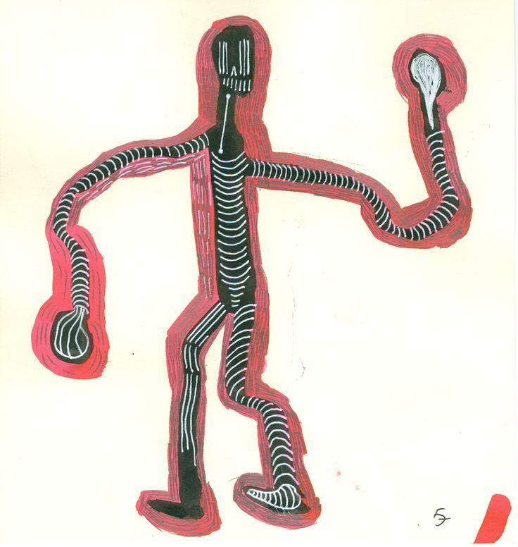 Title: Galdiator 63 / Technic: mixed / Year: 2016 / Artist:Fülöp Józse
