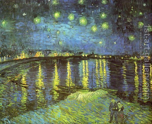 Vincent Van Gogh:Starry Night Over The Rhone