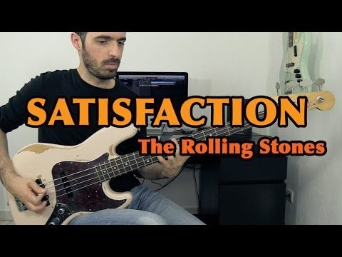 (I CAN'T GET NO) SATISFACTION - The Rolling Stones - Bass Cover /// Bruno Tauzin - YouTube