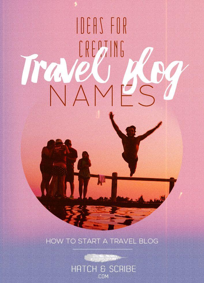 naming your travel blog