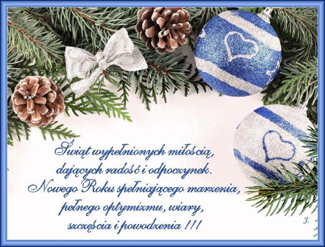 Święta Bożego Narodzenia: Animowane kartki życzeniami bożonarodzeniowymi