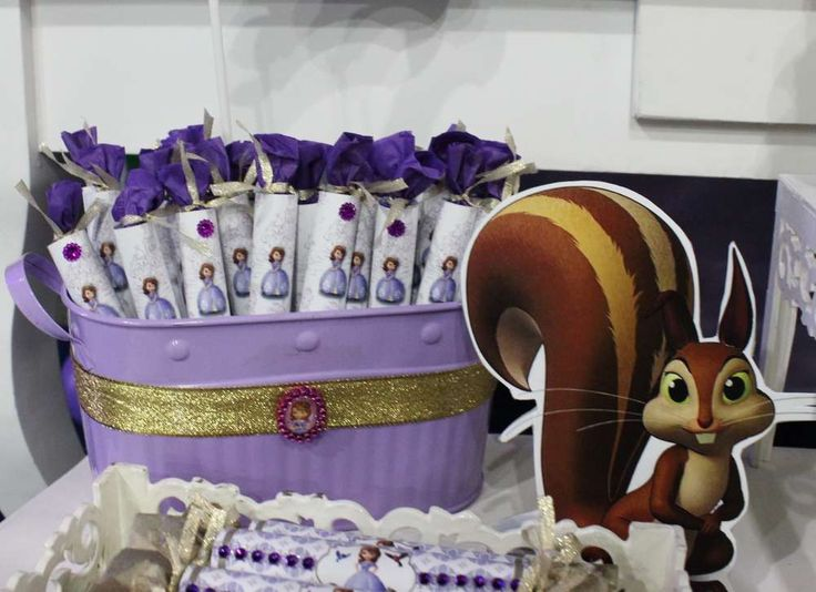 Princess Sofia Birthday  | CatchMyParty.com