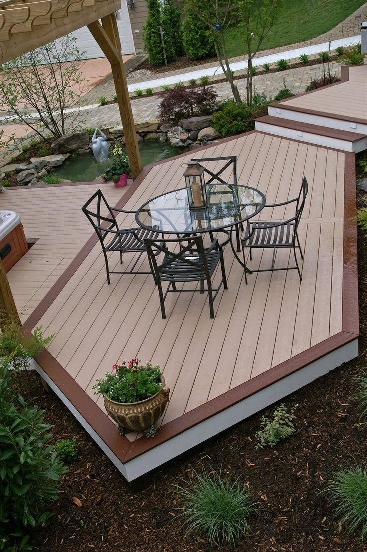 1000 ideas about composite decking prices on pinterest for Capped composite decking prices