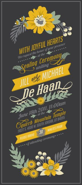 Pretty!Graphic Design, Invitations Design Inspiration, Gray Wedding, Wedding Invitations, Wedding Typography Design, Colors Palettes, Colors Schemes, Funny Commercials, Graphics Design Seals