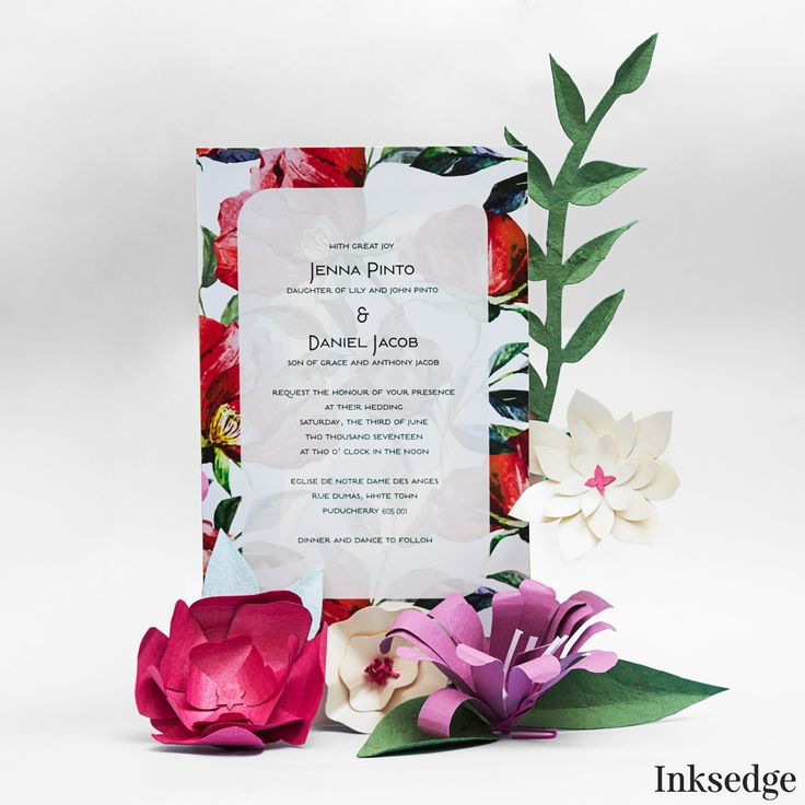 lotus flower wedding invitations%0A  FloralWedding  WaterColor  Floral  Peonies  Minimal  Lily   FloralInvitation  Floral Wedding InvitationsWedding Invitation