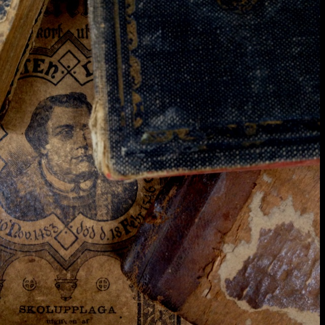 "Old books for the comming exhibition ""Items from Berzelius Tower""."