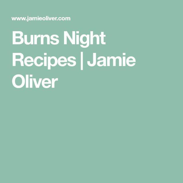 Burns Night Recipes | Jamie Oliver