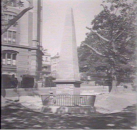Obelisk Macquarie Place