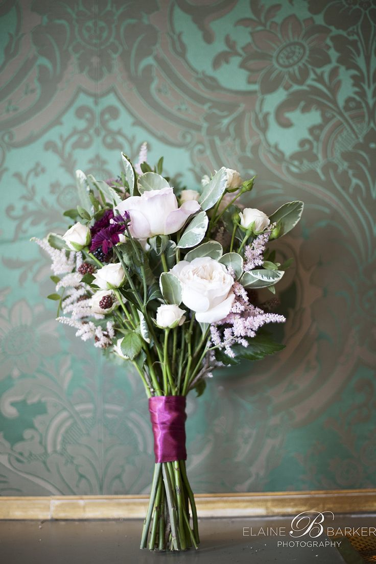 Wedding bouquet at the Shelbourne Hotel Dublin