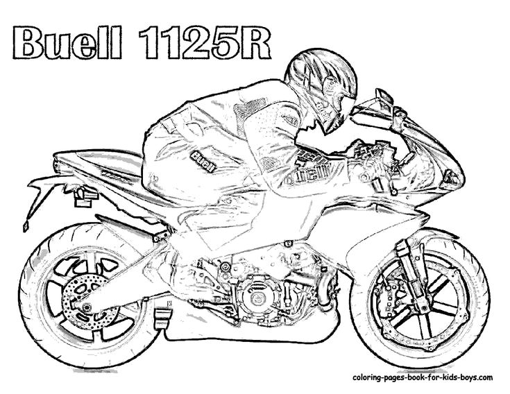 motorcycle coloring pages free motorcycle coloring pages motor cycles motorcycle pictures coloring pages for children of all ages pinterest
