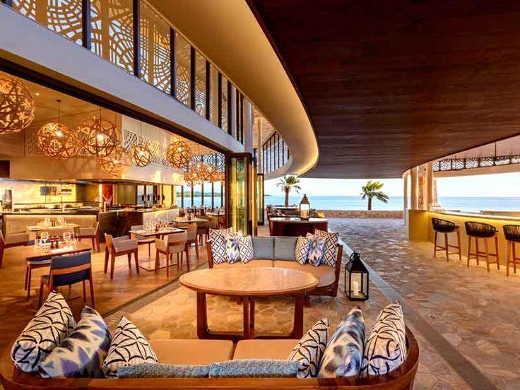 Incredible water views while dining at Marriott Resort Momi Bay