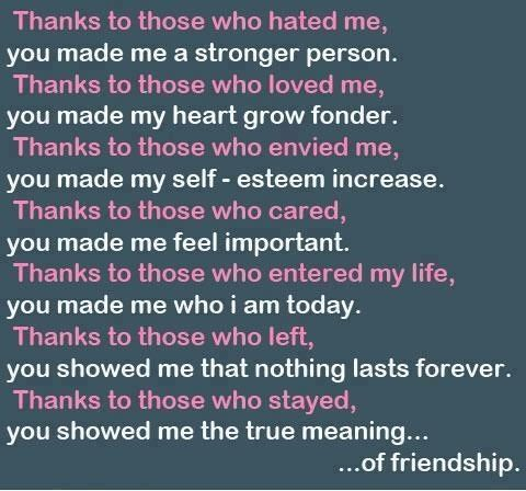 meaning of true friendship quotes