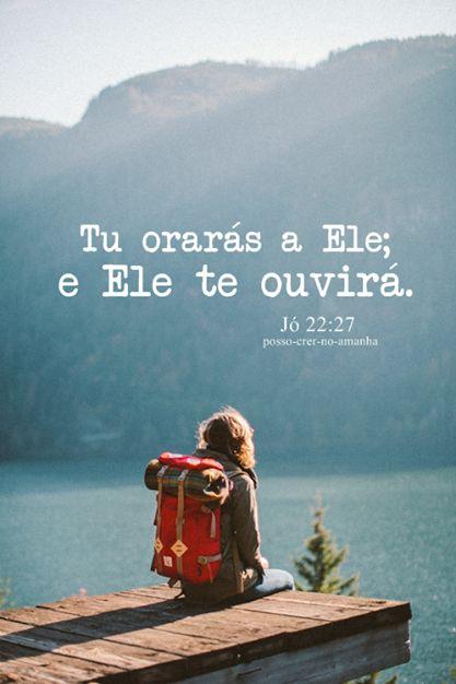 Orar e Confiar! Jó 22:27
